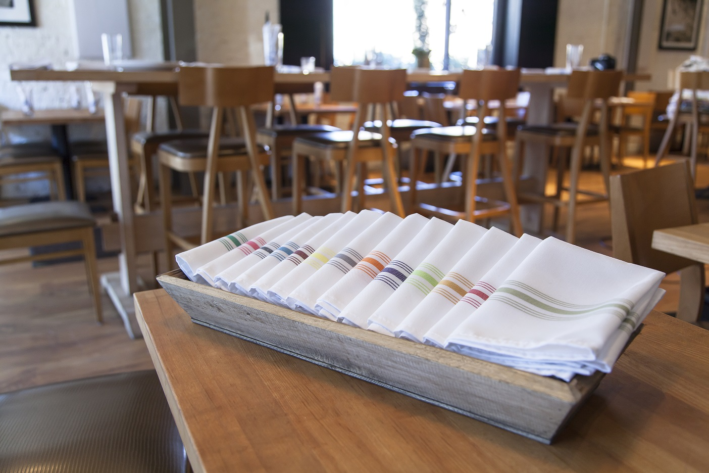 signature stripe napkins
