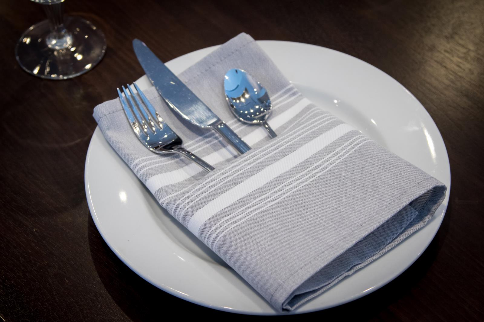 Milliken Table Linens Chambray