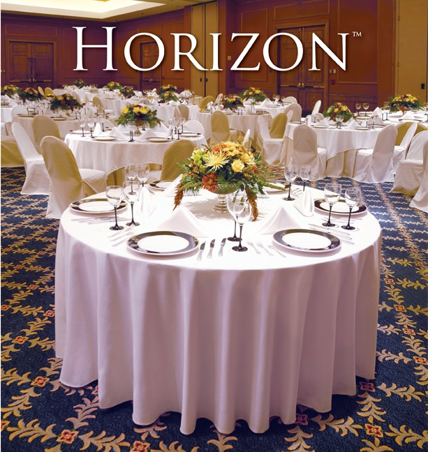 horizon table linens
